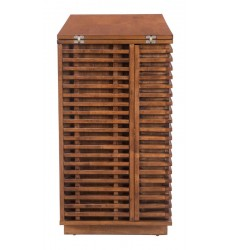 Linea Bar Cabinet Walnut (100670)