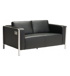 Thor Loveseat Black (100678)