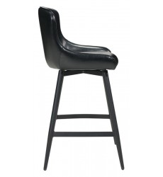 Dresden Bar Chair Black (100758) - Zuo Modern