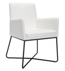 Axel Dining Chair White (100763) - Zuo Modern