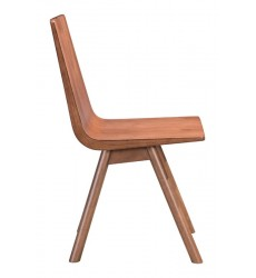 Audrey Dining Chair Walnut (100955) - Zuo Modern