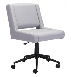 Brix Office Chair Light Gray (100963) - Zuo Modern