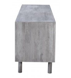 Raven Tv Stand Old Gray (100971) - Zuo Modern