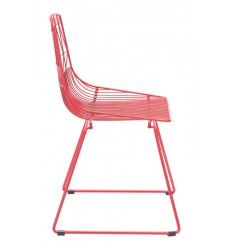 Brody Dining Chair Red (101022) - Zuo Modern