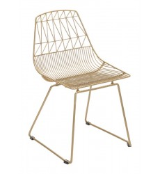 Brody Dining Chair Gold (101023) - Zuo Modern