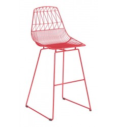 Brody Bar Chair Red (101025)