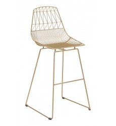 Brody Bar Chair Gold (101026)