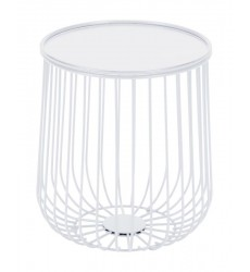 Gilbert Side Table White (101030) - Zuo Modern