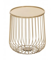 Gilbert Side Table Gold (101032) - Zuo Modern