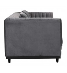 Garland Sofa  Gray Velvet (101044)