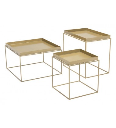 Gaia Nesting Table Gold (101166)