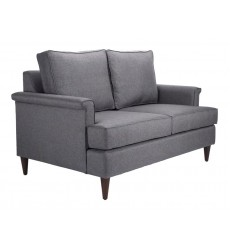 Campbell Loveseat Dark Gray (101194)