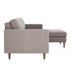 Kace Sectional Feather Gray (101323)