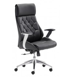 Boutique Office Chair Black (205890) - Zuo Modern