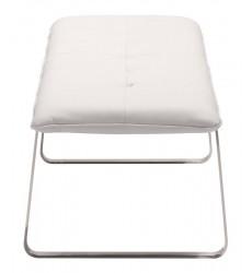 Cartierville Bench White (500178) - Zuo Modern