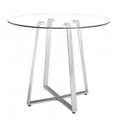 Lemon Drop Counter Table Chrome (601102) - Zuo Modern