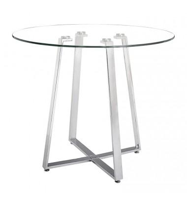 Lemon Drop Counter Table Chrome (601102) - Zuo Modern