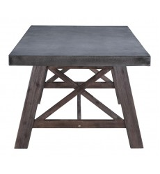 Ford Dining Table Cement & Natural (703594)