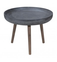 Brother Side Table Cement&Natural (703756)
