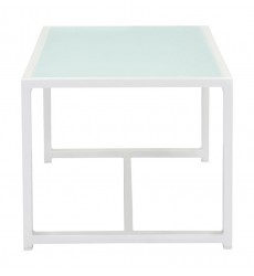 Golden Beach Coffee Table White (703815) - Zuo Modern
