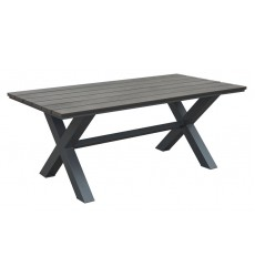Bodega Dining Table Ind. Gray & Brown (703817) - Zuo Modern