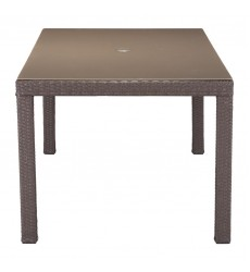 Coronado Dining Table Cocoa (703821) - Zuo Modern