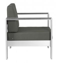 Cosmopolitan Arm Chair Cushion Dark Gray (703848)