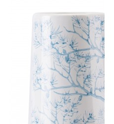 Branch Lg Vase Blue & White (A10067)
