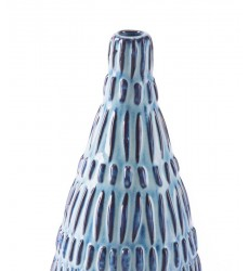 Coastal Sm Bottle Blue & White (A10198)