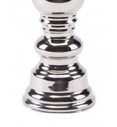Candle Holder Silver Sm Silver (A10468)