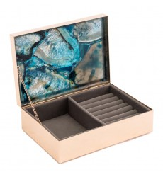 Blue Stone Box Lg Blue (A10926)