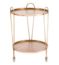 Trebede Bar Cart Gold (A11530)