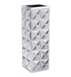 Cosmos Lg Vase Silver (A11610)