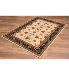 Sunshine - 10x13 Jaipur 2117 Cream Black Rectangle Rug
