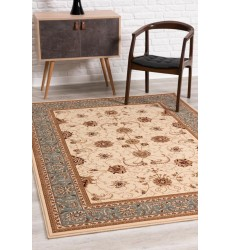 Sunshine - 10x13 Jaipur 2117 Cream Blue Rectangle Rug