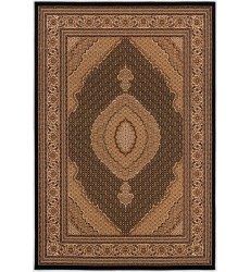 Sunshine - 10x13 Jaipur 2120 Black Cream Rectangle Rug