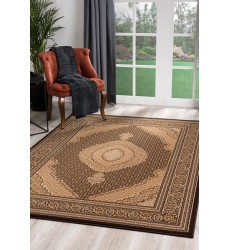 Sunshine - 10x13 Jaipur 2120 Brown Cream Rectangle Rug