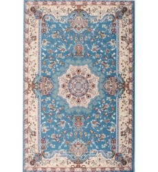 Sunshine - 10x13 Jaipur 2458 Blue Cream Rectangle Rug