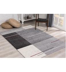 Sunshine - 5x5 Comfort 4232 Grey Round Rug