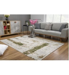 Sunshine - 4x6 Allure 5465 Green Rectangle Rug