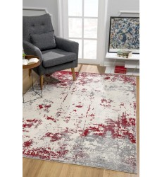 Sunshine - 4x6 Allure 5506 Red Rectangle Rug