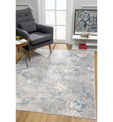 Sunshine - 4x6 Allure 6333 Blue Rectangle Rug