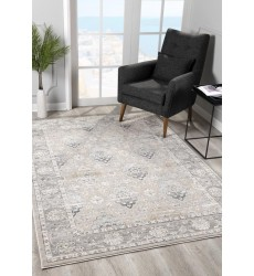 Sunshine - 2x5 Arctic 6857 Cream Grey Rectangle Rug