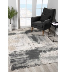 Sunshine - 2x5 Arctic 6898 Cream Grey Rectangle Rug