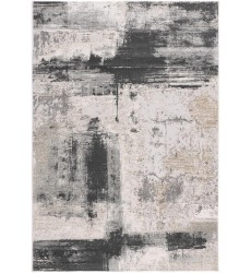 Sunshine - 2x8 Arctic 6898 Cream Grey Rectangle Rug