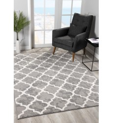 Sunshine - 2x8 Arctic 7050 Grey Rectangle Rug