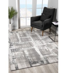 Sunshine - 2x5 Arctic 7080 Olive Grey Rectangle Rug