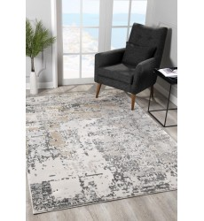 Sunshine - 2x5 Arctic 7598 Grey Rectangle Rug