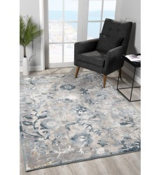 Sunshine - 2x8 Arctic 7689 Blue Rectangle Rug