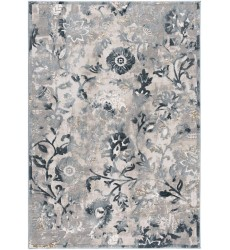 Sunshine - 2x5 Arctic 7689 Blue Rectangle Rug